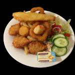 Cutout - Seafood Basket